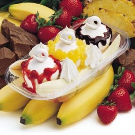 Elektromos cigi FlavorWest Banán split aroma 10 ml