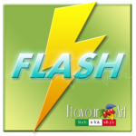 Elektromos cigaretta FLASH E-liquid 10 ml