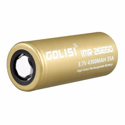 Picture of Golisi IMR 26650 4300mAh High Drain 40A